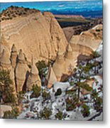 Tent Rocks National Monument Metal Print
