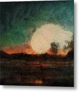 Tequila Sunrise Photo Art 03 Metal Print