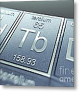 Terbium Chemical Element Metal Print