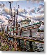 Teri Malynn On The Bon Secour Metal Print