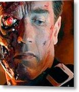 Terminator Metal Print