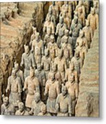 Terra Cotta Warriors Metal Print