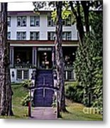 Terrace Inn Metal Print