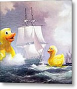 Terror On The High Seas II Metal Print