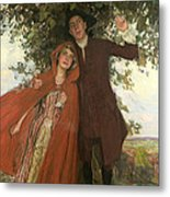 Tess Of The D'urbervilles Or The Elopement Metal Print