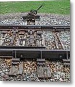 Switch Tracks Metal Print