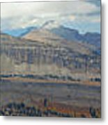 Teton Canyon Shelf Metal Print