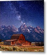 Teton Nights Metal Print by Darren  White