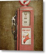 Texaco Fire Chief Metal Print