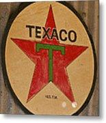Texaco Star Metal Print