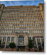Texas And Pacific Lofts Color Metal Print