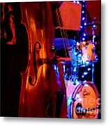 Texas Blue Lights Metal Print