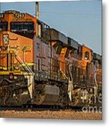 Texas Freight  Metal Print