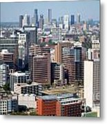 Texas Medical Center In Houston Metal Print
