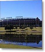 Texas Rangers Reflection Metal Print