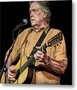 Texas Singer Songwriter Guy Clark Metal Print