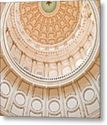 Texas State Building Dome Metal Print