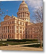 Texas State Capitol Building Metal Print