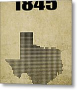 Texas Statehood 2 Metal Print