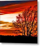 Texas Sunset Metal Print