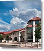 Texas Tech Student Union Metal Print