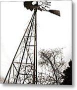 Texas Windmill 2 Metal Print
