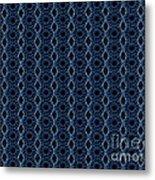 Textile Metal Print by Sparkey
