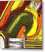 Textural 195 Metal Print