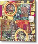 Textural 210 Metal Print