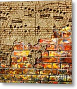 Texture And Timbre Metal Print