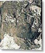Texture No. 2 Effect 1 Metal Print