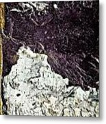 Texture No.2 Raw Metal Print