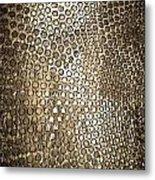Texture Of Gong Metal Print