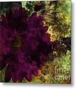 Textured Flora Metal Print by Ankeeta Bansal