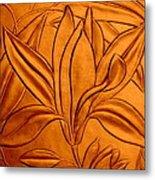 Textured Flower3 Metal Print