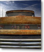 Textured Ford Truck 2 Metal Print
