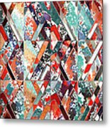 Textured Structural Abstract Metal Print