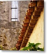 Textures In A Provence Village Metal Print