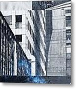 Textures Of The City Metal Print