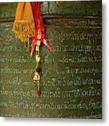 Thai Bell Metal Print