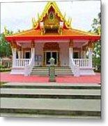 Thai Buddhist Temple I Metal Print