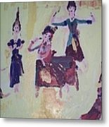 Thai Dance Metal Print