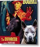 Thai Ridgeback Art Canvas Print - The Enforcer Movie Poster Metal Print