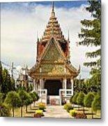 Thailand Temple Metal Print