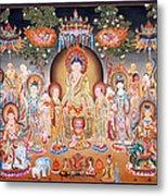Buddha Art Thangka Metal Print