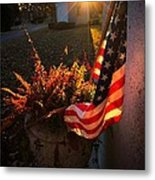 Thank You For Serving Metal Print