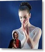 Thank You For The Music Metal Print