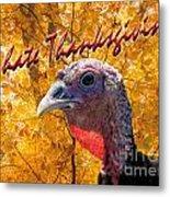 Thanksgiving Fun Metal Print