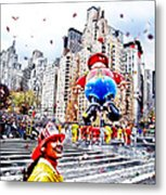 Thanksgiving Parade Metal Print
