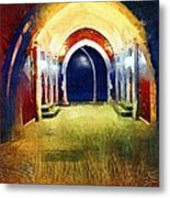 That Long Walk Home Metal Print